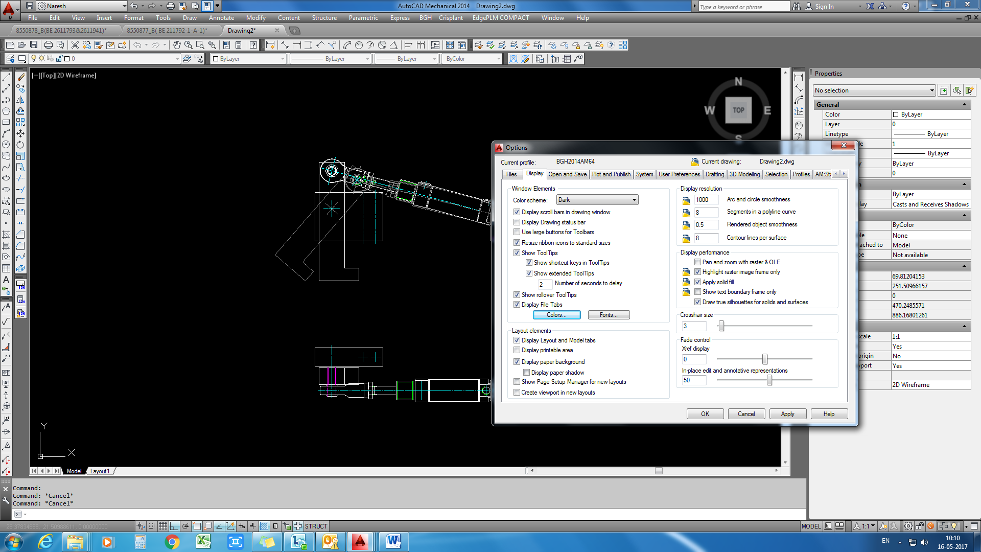 How To Change Background Color In Autocad 1