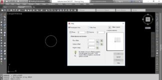 Use Of Array Command In AutoCAD 2017, 2018, 2019 - Tutorial