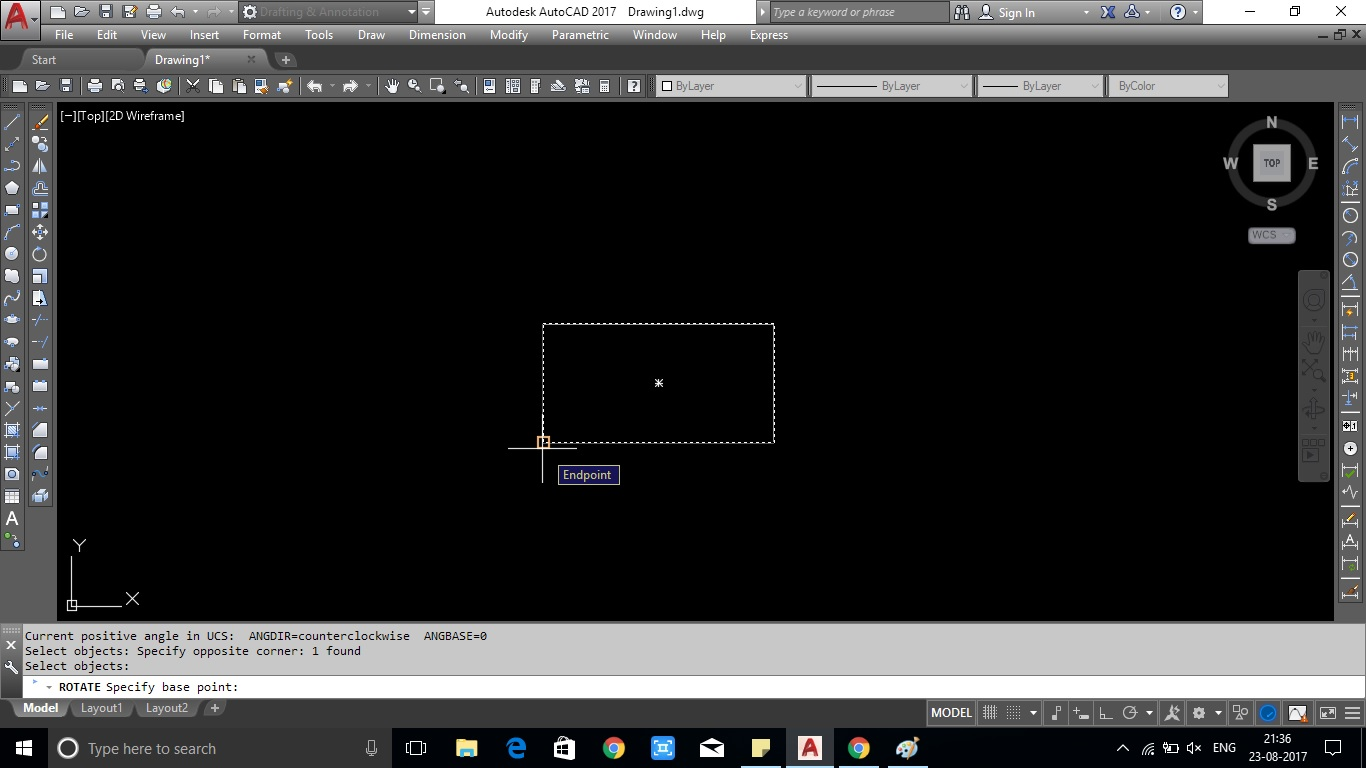 Rotate command in autocad showing with image and video free cad help specify the rotation angle as shown in pic 3 ccuart Choice Image