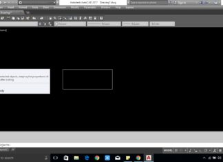 Enlarge the drawing In AutoCAD - Scale Command