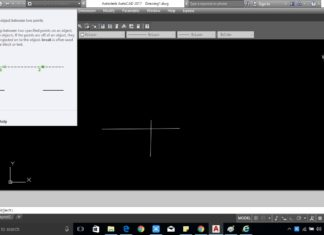 Cut The Line Between Two Specific Points in AutoCAD